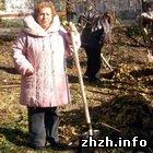 Общество: Ирина Синявская участвовала в акции по уборке мусора в Житомире. ФОТО