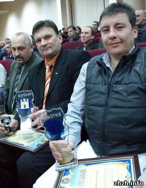 Определены 25 лучших спортсменов города Житомира