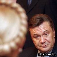 Общество: Опрос: Рейтинг Тимошенко падает, у Януковича растет