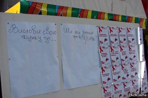 Акция ко Дню памяти погибших от СПИДа закончилась в Бердичеве провалом.