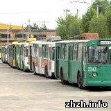 Житомир: В Житомире второй день бастуют трамваи и троллейбусы