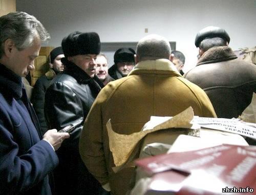 «Народная самооборона» обвинила регионалов в нападении на их штаб в Житомире. ФОТО