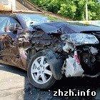 Происшествия: В Житомире столкнулись DUF и Hyundai. Три человека госпитализированы. ФОТО