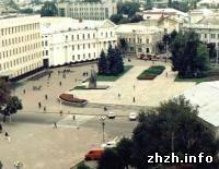 Житомир: Новая площадь появилась в Житомире. ФОТО