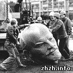 Новоград-волинський відзвітував про демонтаж пам'ятників Леніну в районі
