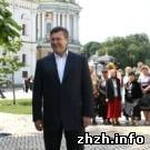 Политика: Виктор Янукович находится с рабочей поездкой в городе Малин. ФОТО