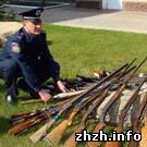 Общество: Житомиряне добровольно отдают в милицию оружие времен Великой Отечественной войны. ФОТО