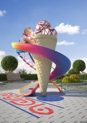 Памятник мороженному