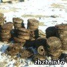 Происшествия: В Житомире дворники нашли противотанковые мины в мусорном баке