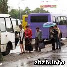 Житомир: В Житомире во время «проводов» поменяется движение городского транспорта