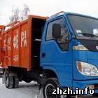 Экономика: Бердичев закупает новые мусороуборочные машины. ФОТО