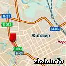 Житомир: Карта Житомира может потерять одну из улиц города