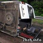 Происшествия: Под Житомиром перевернулась маршрутка с пассажирами. Новые подробности. ФОТО
