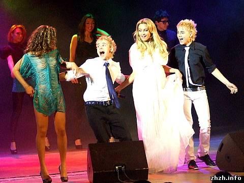 В Житомире состоялись два концерта «Фабрики звёзд-3»
