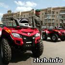 Армия: В Житомире пограничникам вручили 6 квадроциклов «Outlander». ФОТО
