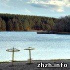 Житомир: В Житомире официально открыт купальный сезон и огромный пляж. ФОТО