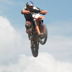 Спорт: В Житомире прошли открытые соревнования по мотокроссу
