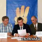 В Житомире объединились националисты и создали Комитет защиты Украины. ФОТО