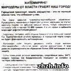 Житомирян закликають підписатися під вимогою відставки В. Шелудченко