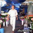 Житомир: Торговцы цветами против переезда с ул. Московской на новый рынок в Житомире. ФОТО