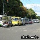 Происшествия: ДТП в центре Житомира опять стало причиной огромного затора. ФОТО