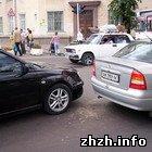 Житомир: В Житомире столкнулись Вольво и Ауди. Пострадала жительница Киева