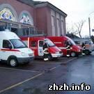 Житомирские спасатели получили 17 единиц аварийно-спасательной техники