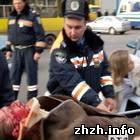 Происшествия: В Житомире мотоциклист с пассажиром врезался в иномарку