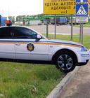 Під Житомиром ДАІ встановила макети патрульних автомобілей