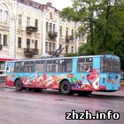 Житомир: На Пасху общественный транспорт в Житомире будет ездить круглосуточно