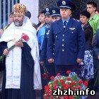 В Житомире отметили День памяти милиционеров, погибших при исполнении. ФОТО