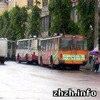 Житомир: В Житомире возобновлено движение троллейбусов и трамваев