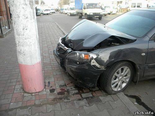 Авария в Житомире