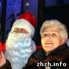 Дед Мороз и Шелудченко открыли главную елку Житомира. ФОТО