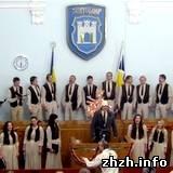 Хоровая капелла «Орея» дала первый Рождественский концерт в Житомире. ФОТО