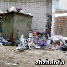 Житомир: В Житомире вдвое подняли тарифы на вывоз мусора