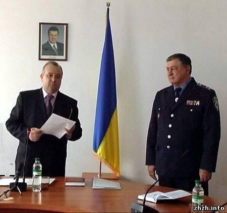 Полковник Юрий Ивакин новый руководитель управления МВД в Житомирской области
