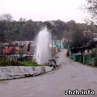 В Житомире появился новый фонтан. ФОТО. ВИДЕО