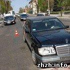 В Житомире в ДТП попали две иномарки. Оба водителя в больнице. ФОТО
