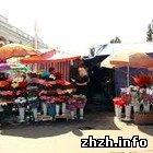 Власть: Власти Житомира не будут применять силу против торговцев цветами
