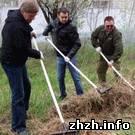 В Житомире завершился большой общегородской субботник. ФОТО