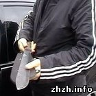 В Житомире у водителя Мерседеса изъяли нож-мачете длиной полметра