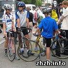 Житомир вчора зустрічав колону учасників щорічного Всеукраїнського велопробігу