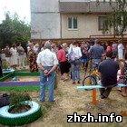 Общество: Жители многоэтажек в Житомире протестуют против строительства торгового объекта. ФОТО