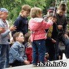 Скауты из организации «ПЛАСТ» устроили праздник для детей Житомира. ФОТО