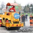 Житомир: Автодорожные службы Житомира готовят дороги к приезду Президента Украины