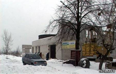 В Бердичевае строят новую насосно-фильтровальную станцию. ФОТО