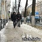 Житомир: В Житомир внезапно пришла оттепель. Городу угрожает