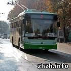 Житомир: В Житомире появился новый «рекламный» троллейбус Луцкого автозавода
