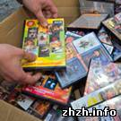 Житомирская милиция призывает горожан покупать лицензионные CD и DVD диски